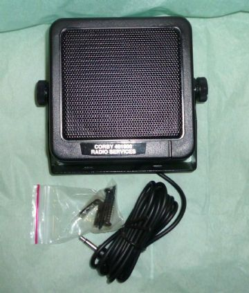 LOUD SPEAKER  8 WATTS  8 Ω 85mm SQUARE PMR CB TAXI  726 -POWER WITH BRACKET